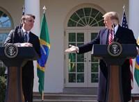 Donald Trump lehetséges NATO-tagként említette Brazíliát