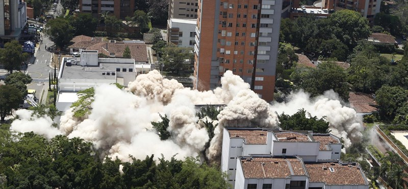 Gázpalackos támadásban öltek meg rendőröket Kolumbiában