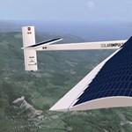 Elindult első útjára a napelemes repülő - videó