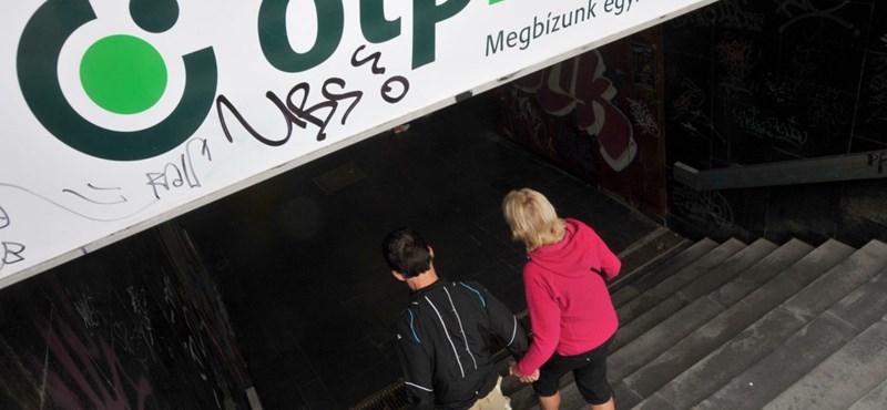 Zuhanás a tőzsdén: felfüggesztették az OTP és a Mol kereskedését