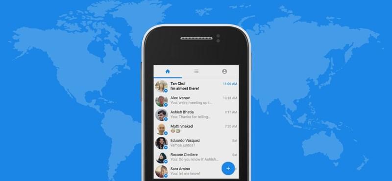 Töltse le még ma, a telefonja hálás lesz: már 100 millióan üzengetnek a Messenger aksikímélő változatával