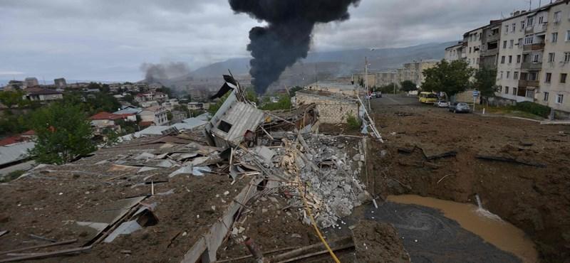 Újabb tűzszüneti egyezményt fogadtak el Karabahban