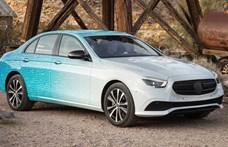 Itt az új Mercedes E-osztály, hétféle plugin hibrid változatban