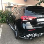 Egerben parkolt a még be sem mutatott Mercedes-AMG A45