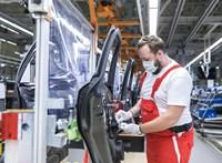350 ezer forint Covid-bónuszt kapnak a győri Audi-gyár dolgozói