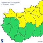 Riasztás van ónos eső miatt Szabolcsban