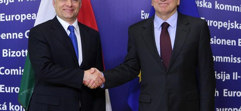 Orbán üzent Barrosónak: Magyarország készen áll