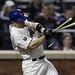 Nap képe: ütőjét törte a New York Mets játékosa