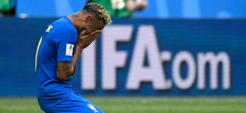 A 90. perc után szenvedte ki Brazília a győzelmet