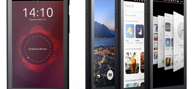 Végre: jövő héttől árulják a világ első Ubuntu-telefonjait