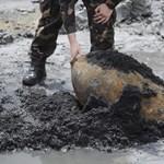 Egytonnás légibombát találtak Csepelen a Kvassay-hídnál