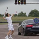 Andy Murray vagy egy Jaguar a gyorsabb? – Videó