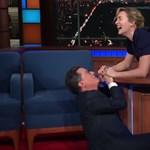 Kate Winslet megmutatta, hogyan fért volna fel Jack az ajtóra a Titanicban