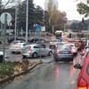 A nap fotója: busz, villamos és autók a budapesti kereszteződésben ragadva