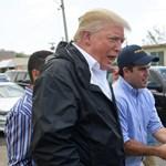 Trump szerint a Puerto Ricót letaroló hurrikán nem is okozott igazi katasztrófát