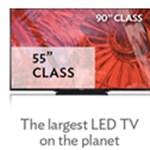 Íme a világ legnagyobb LED-es HDTV-je