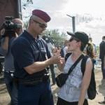Osztrák fiatalok nácizták a Jobbik politikusát Röszkén
