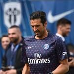 Buffon csak második számú kapus a PSG-ben