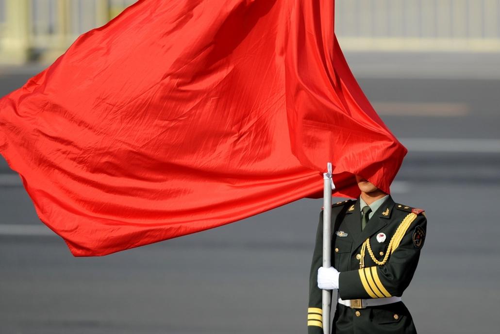 afp. szél, szeles, időjárás, nagyítás - piros zászló, Peking, Knía, 2013.05.28.