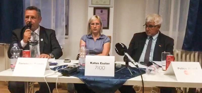 Egy fideszes polgármesterjelölt leült vitázni az ellenzéki jelölttel