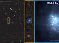 Különleges galaxisra bukkantak, 2000 millió éves állapotában figyelték meg