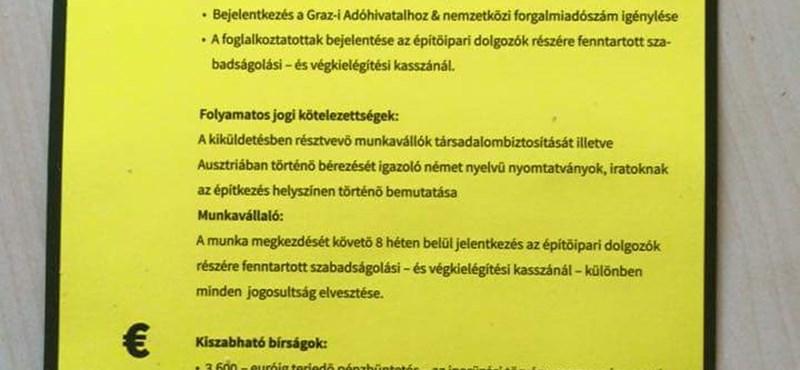 Magyar feketemunkásokra vadászik Burgenland