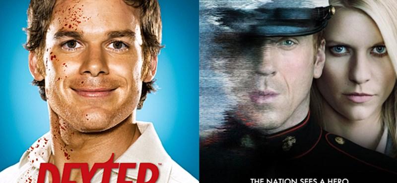 Sorozathírek: Örülnek a rajongók, ősszel folytatódik a Dexter és a Homeland is