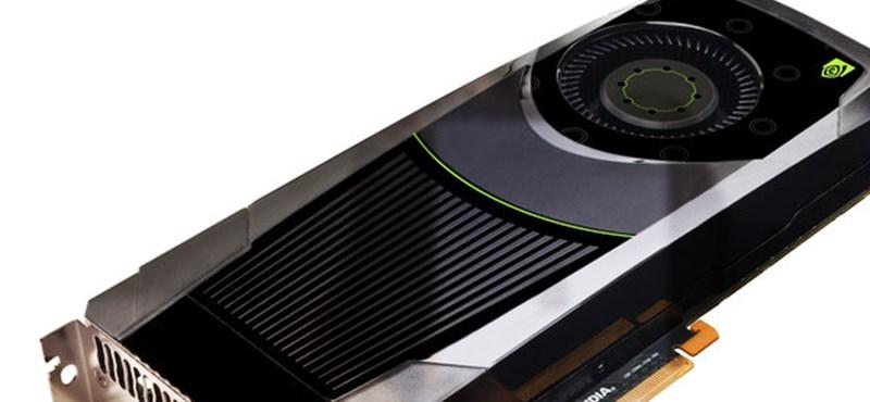 Már kapható az nVidia GTX670