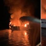 25 holttestet találtak meg a kirándulóhajón kiütött tűz után