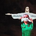 A riói Krisztus-szobron mondtak köszönetet az orvosoknak