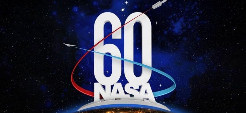 Űrtörténeti videó: 60 másodpercbe sűrítette minden fontos pillanatát a 60 éves NASA