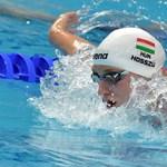 Csak úgy potyognak a magyar érmek a koppenhágai rövidpályás úszó-Eb-n