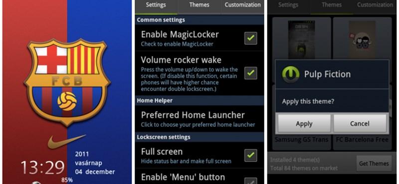 Így lehet látványosabb Lock-képernyőnk Androidon