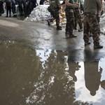 Vasárnapi árvízhelyzet képekben - Nagyítás-fotógaléria