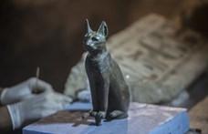 Elképesztő macskamúmiákat találtak Egyiptomban