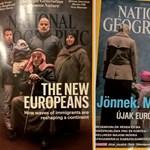 Tanulságosan módosult a National Geographic migránsos címlapja a magyar kiadásban
