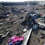 Megsérültek, de megvannak a lezuhant ukrán repülő feketedobozai