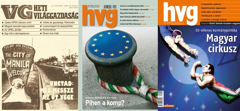 Manilától Rogán Cecíliáig: megnyílt a HVG címlapjait bemutató kiállítás