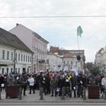 Tüntettek a Démász dolgozói - fotók