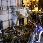 Vádat emeltek a Fidesz-székház rongálói ellen