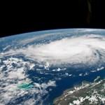Ötös kategóriájú szörny – így néz ki az űrből a Dorian hurrikán