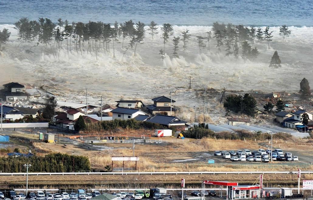 japán földrengés cunami