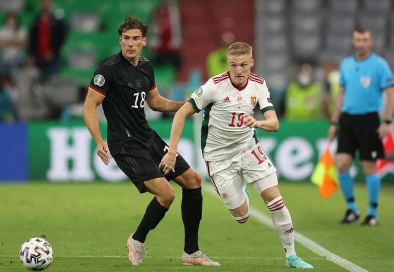 We drew with the Germans in a great match
