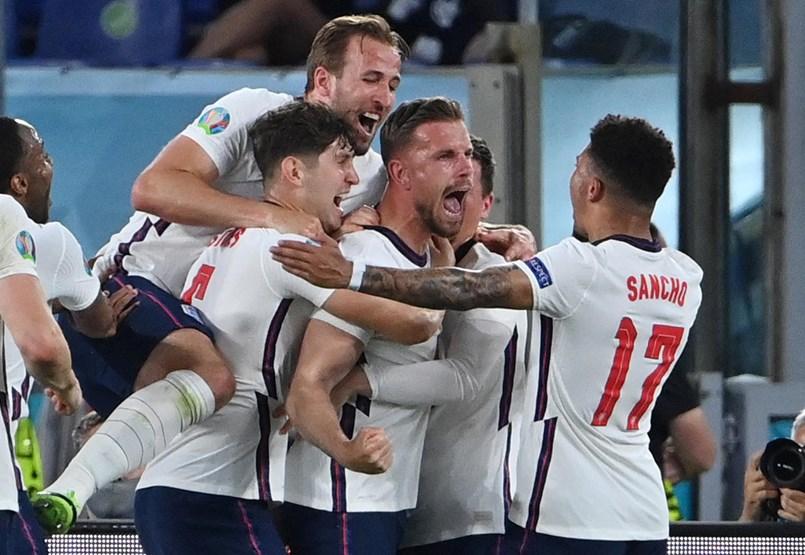 El partido Ucrania-Inglaterra fue emocionante durante cinco minutos, con un suave marcador de 0-4.