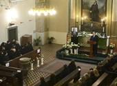 Jelen lehetett Orbán egy 200 fős búcsúztatáson, mert a vallási szertartásokra csak ajánlott szabályok léteznek