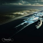 Futurisztikus repteret építhetnek a Temze közepére – fotókkal