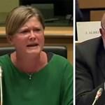 Vörös fejjel üvöltöztek az EP-ben, egy magyar képviselő is részese volt
