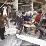 Pokolgép robbant Damaszkuszban, gyerekek is vannak az áldozatok között