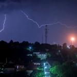 Itt a rossz idő: riasztást adott ki az OMSZ