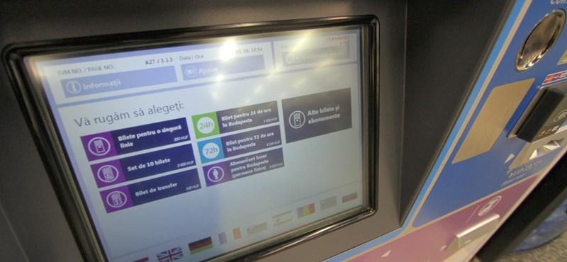 Visszahúzzák a visszajáró bankjegyet a BKK automatái
